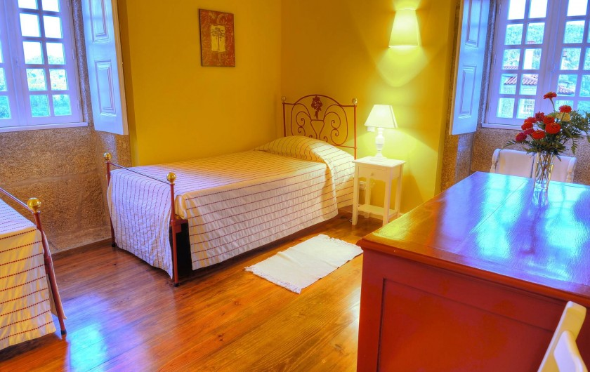 Location de vacances - Gîte à Santa Cruz do Lima - Chambre Casa do Tanque