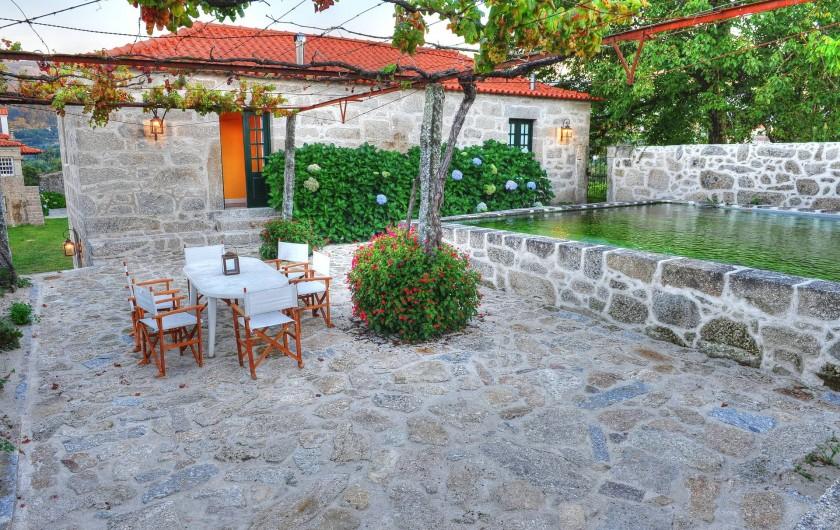 Location de vacances - Gîte à Santa Cruz do Lima - Terrace Casa do Tanque
