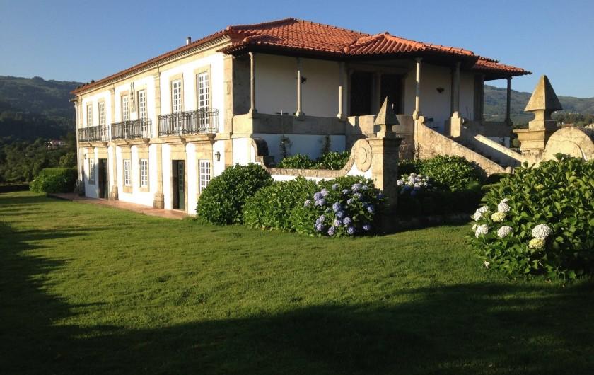 Location de vacances - Gîte à Santa Cruz do Lima - Facade  Casa de Luou