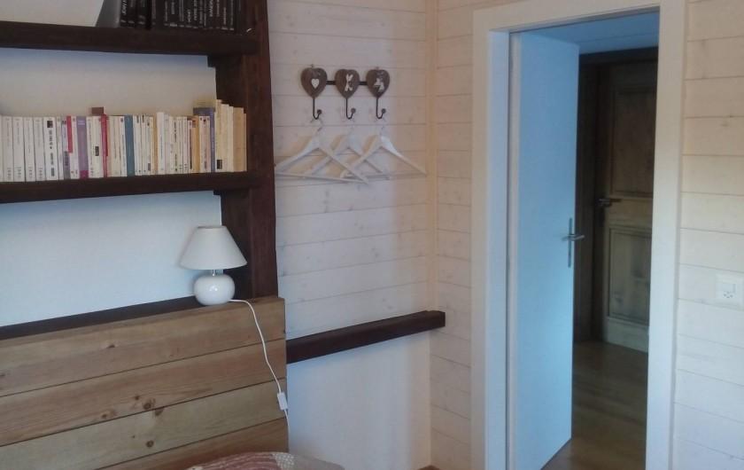 Location de vacances - Appartement à Vercorin - Chambre des parents