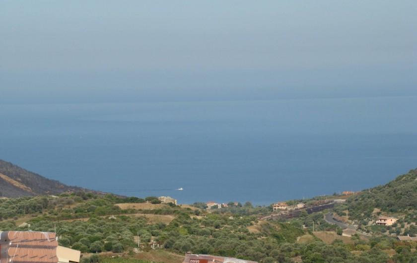 Location de vacances - Maison - Villa à Tresnuraghes - Notre vue sur mer