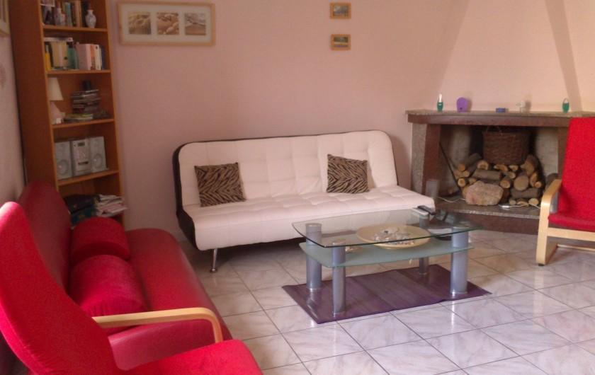 Location de vacances - Maison - Villa à Tresnuraghes - Séjour