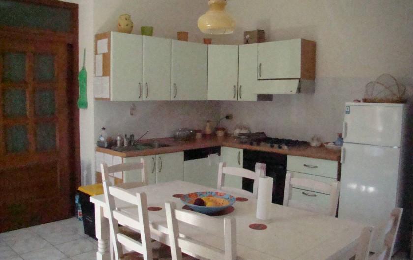 Location de vacances - Maison - Villa à Tresnuraghes - Cuisine