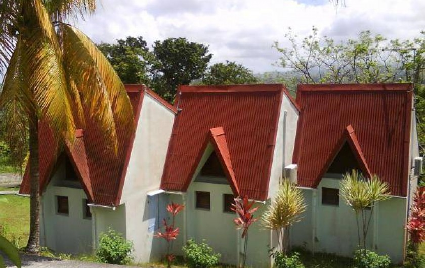 Location de vacances - Studio à La Trinité - Vue  Mezzanine côté allée intérieure
