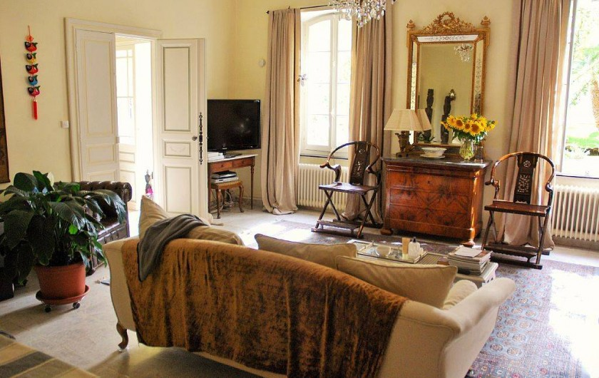 Location de vacances - Villa à Bram - Salon / Piece a vivre