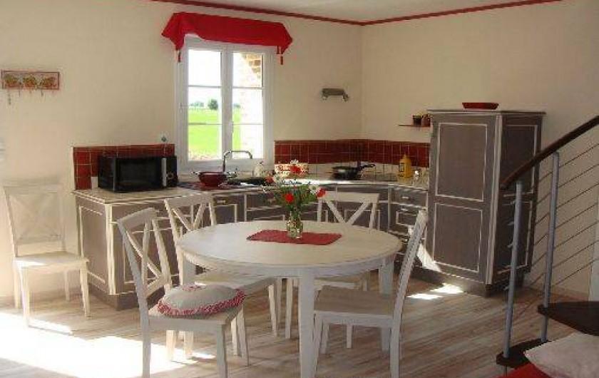 Location de vacances - Gîte à Nibas - cuisine