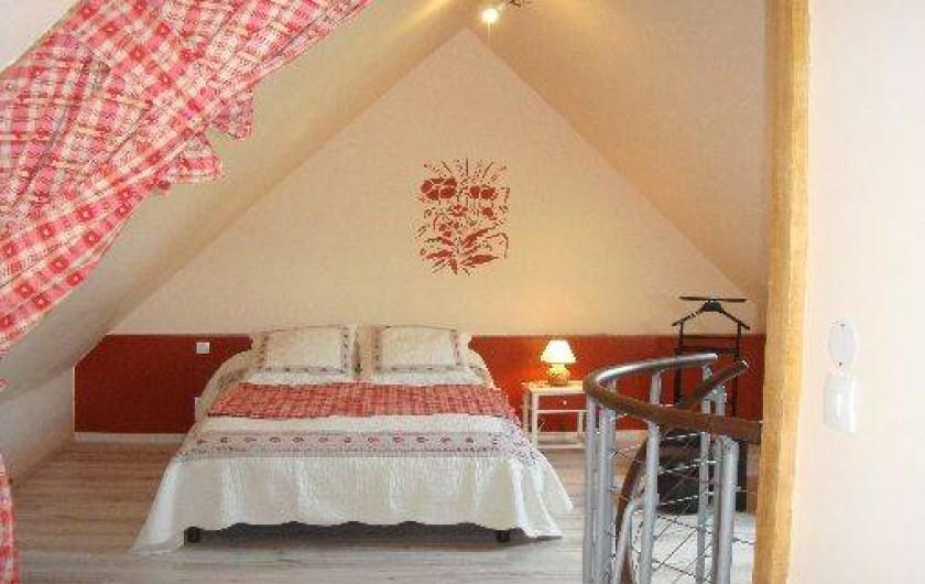 Location de vacances - Gîte à Nibas - chambre avec lit 2 places
