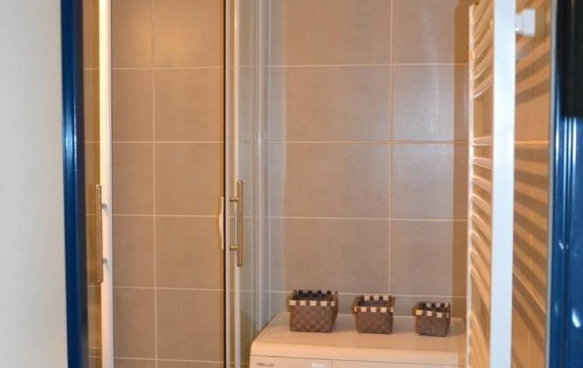 Location de vacances - Studio à Sausset-les-Pins - Entrée douche