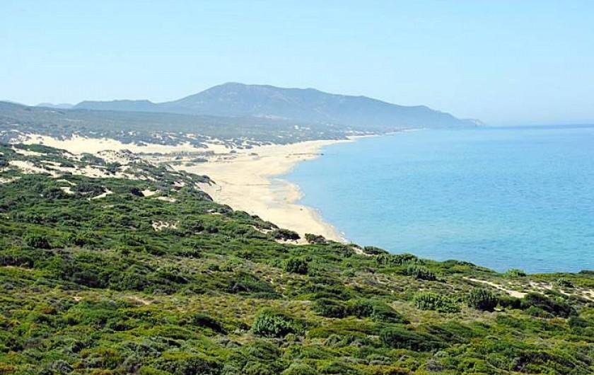 Location de vacances - Chalet à Guspini - Dunes de Piscinas