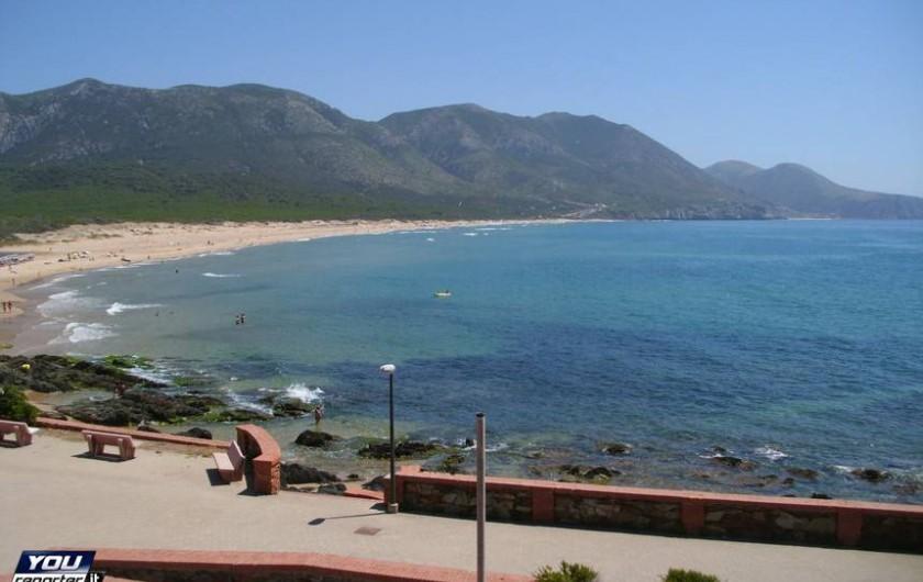 Location de vacances - Chalet à Guspini - Plage de Portixeddu