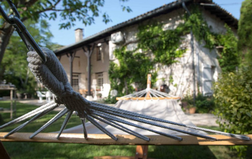 Location de vacances - Chambre d'hôtes à Saint-Paul-d'Espis - coin repos