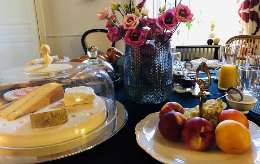 Location de vacances - Chambre d'hôtes à Saint-Paul-d'Espis - Petit déjeuner