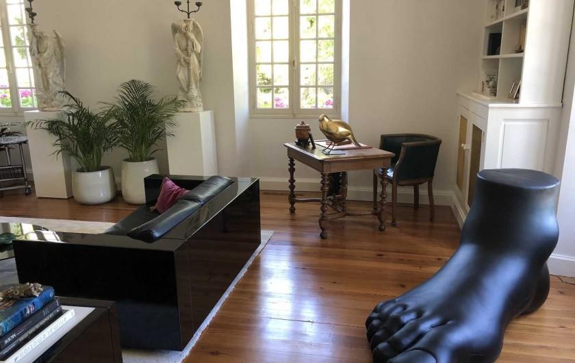 Location de vacances - Chambre d'hôtes à Saint-Paul-d'Espis - Salon d'invités