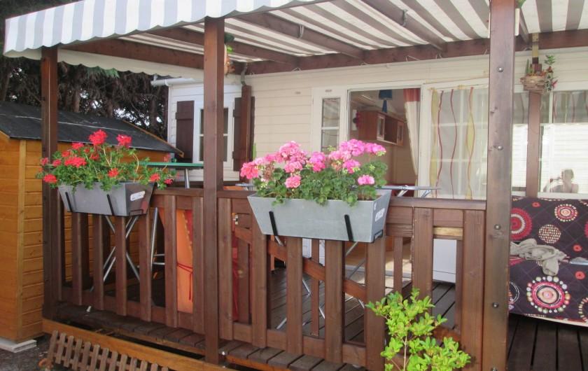 Location de vacances - Bungalow - Mobilhome à Mimizan - mobilhomme mimizan