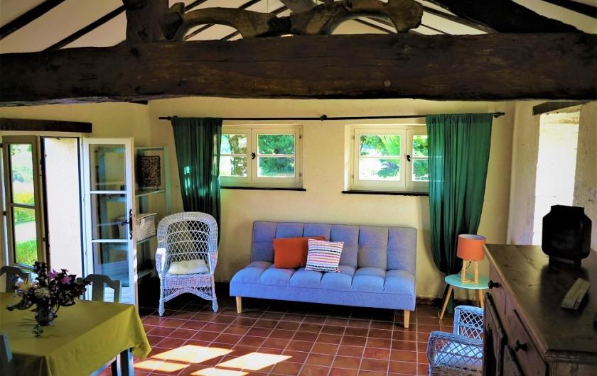 Location de vacances - Gîte à Villeréal - Pièce à vivre - Salon