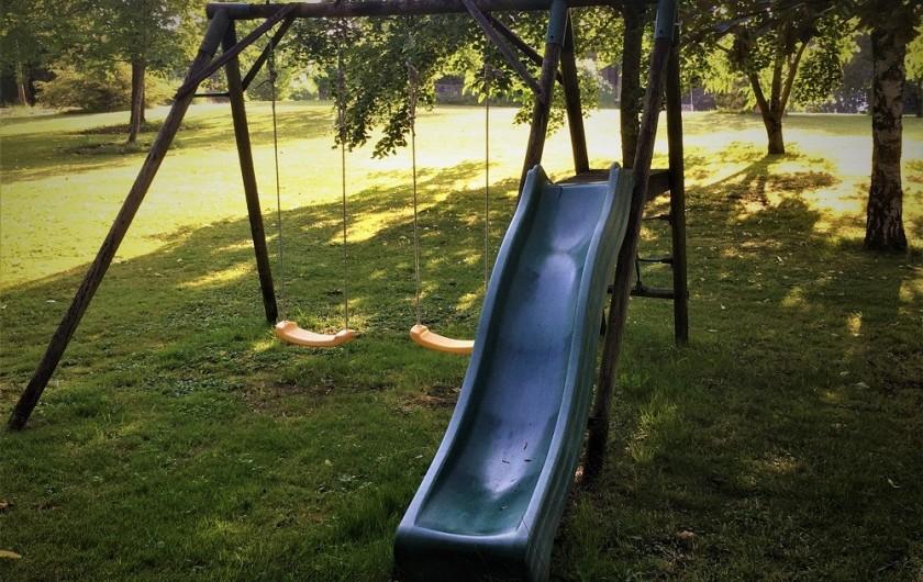 Location de vacances - Gîte à Villeréal - Grande aire de jeux