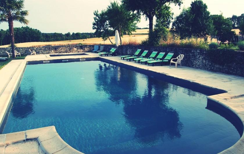 Location de vacances - Gîte à Villeréal - Le Jeanquet de Villeréal - Ensemble de 5 gîtes de charme avec piscines