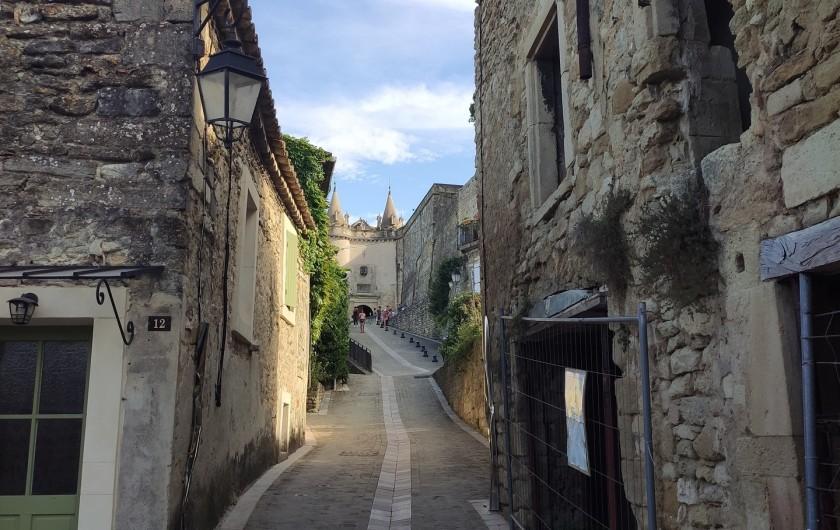 Location de vacances - Gîte à Grillon - Grignan et ses ruelles