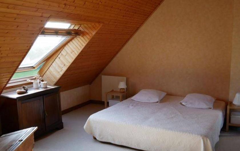 Location de vacances - Maison - Villa à Erquy - Mezzanine côté couchage (2 lits simples - 90 - ou double selon assemblage)
