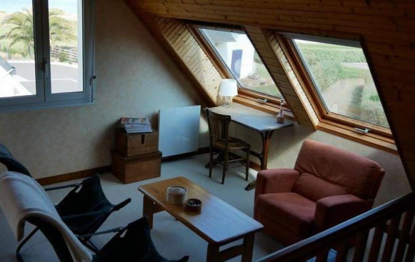 Location de vacances - Maison - Villa à Erquy - Mezzanine côté salon