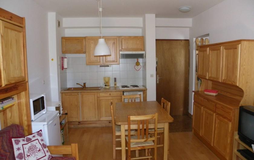 Location de vacances - Appartement à Chamonix-Mont-Blanc - coin cuisine