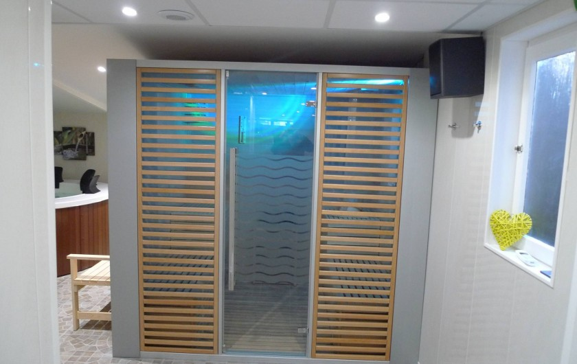 Location de vacances - Appartement à Saint-Malo - le sauna