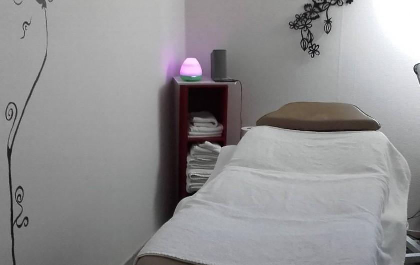 Location de vacances - Appartement à Saint-Malo - le coin massages/réflexologie