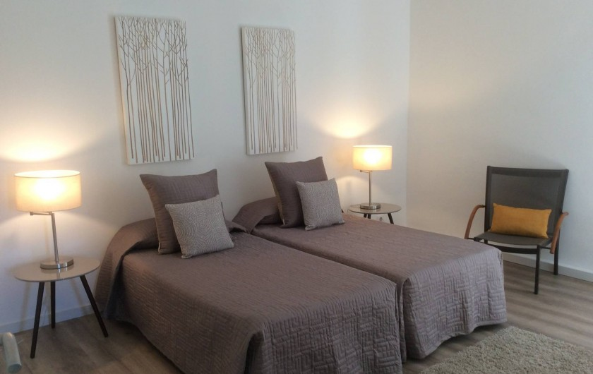 Location de vacances - Gîte à Mèze - Chambre 2 - Gîte 2