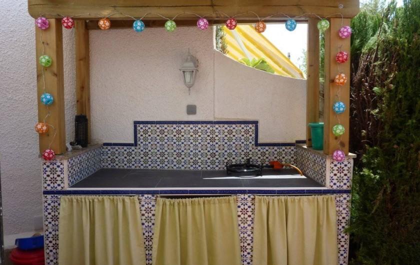 Location de vacances - Chalet à Calp - barbecoa