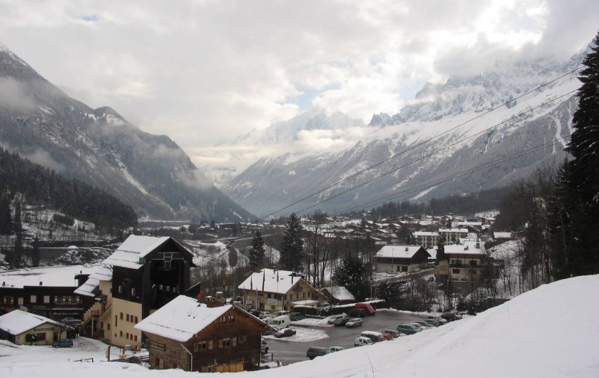 Location de vacances - Chalet à Les Houches - les houches sous la neige