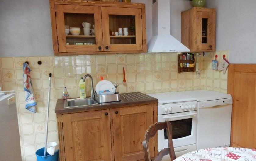 Location de vacances - Chalet à Les Houches - coin cuisine