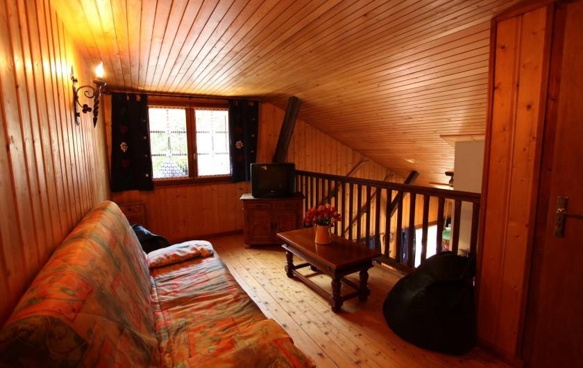 Location de vacances - Chalet à Les Houches - mezzanine