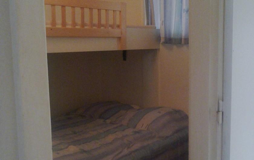 Location de vacances - Appartement à Koksijde - petite chambre