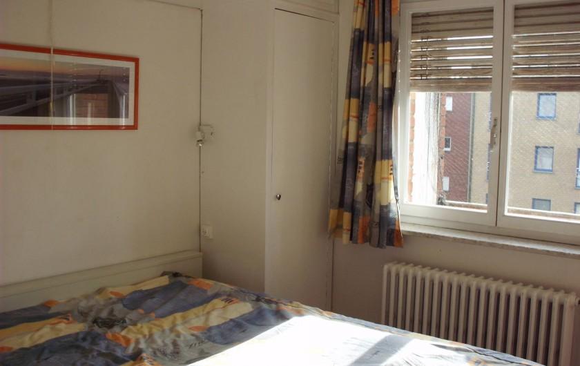 Location de vacances - Appartement à Koksijde - grande chambre