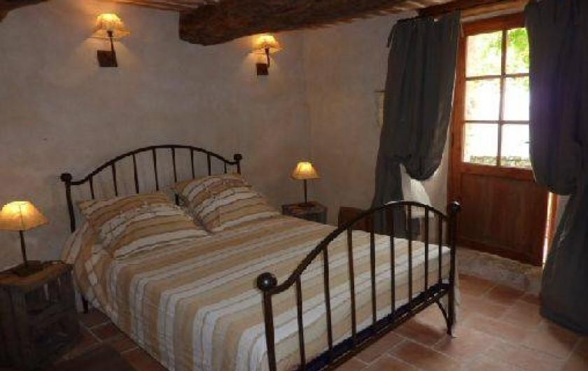 Location de vacances - Gîte à Ribiers - La chambre Marne