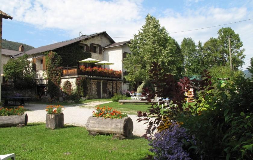 Location de vacances - Gîte à Saint-Agnan-en-Vercors - Gîte en automne