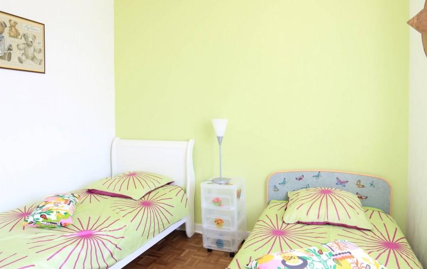 Location de vacances - Maison - Villa à Landéda - Chambre verte