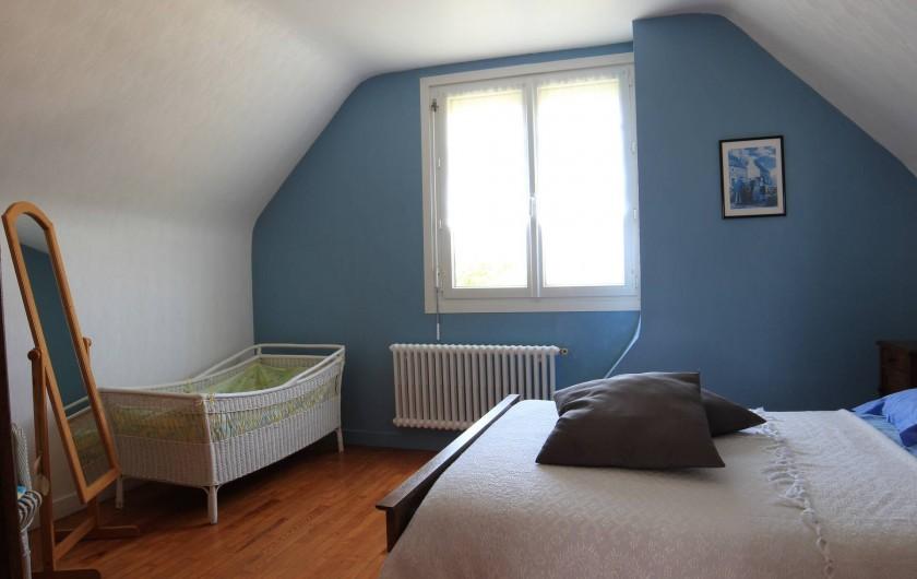 Location de vacances - Maison - Villa à Landéda - Chambre bleue