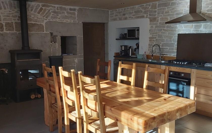 Location de vacances - Gîte à Laviron - cuisine