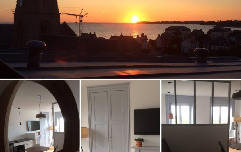 Location de vacances - Appartement à Saint-Pair-sur-Mer - Style contemporain