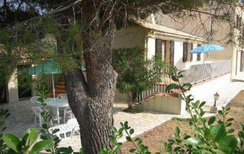 Location de vacances - Villa à Calvi - Terrasse