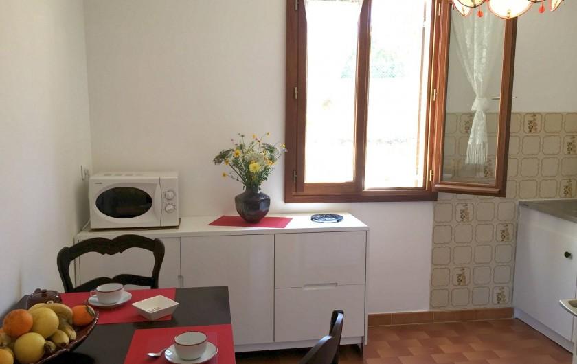 Location de vacances - Villa à Calvi - Cuisine