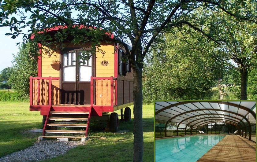 Location de vacances - Gîte à Calleville - Les Roulottes de la Risle