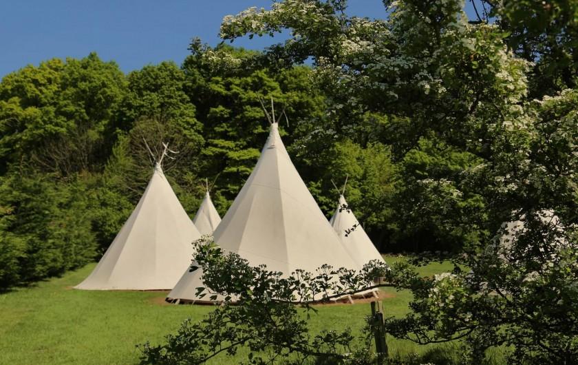 Location de vacances - Insolite à La Chapelle-aux-Bois - Tipis