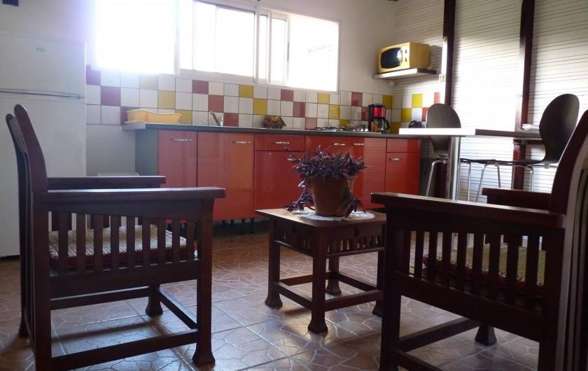 Location de vacances - Villa à Rivière-Pilote - salon t1