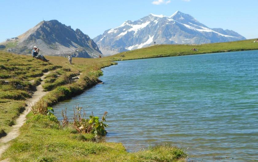 Location de vacances - Studio à Val-d'Isère - lac de l'Ouillette