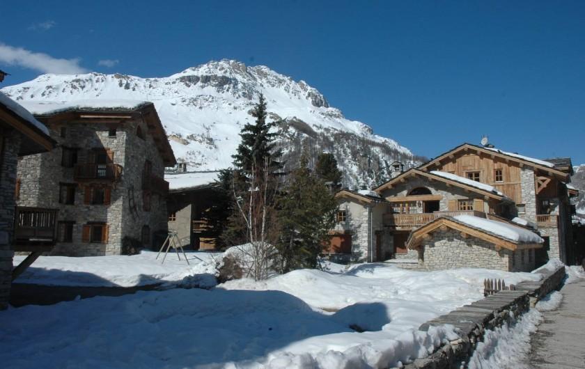 Location de vacances - Studio à Val-d'Isère - le village de val