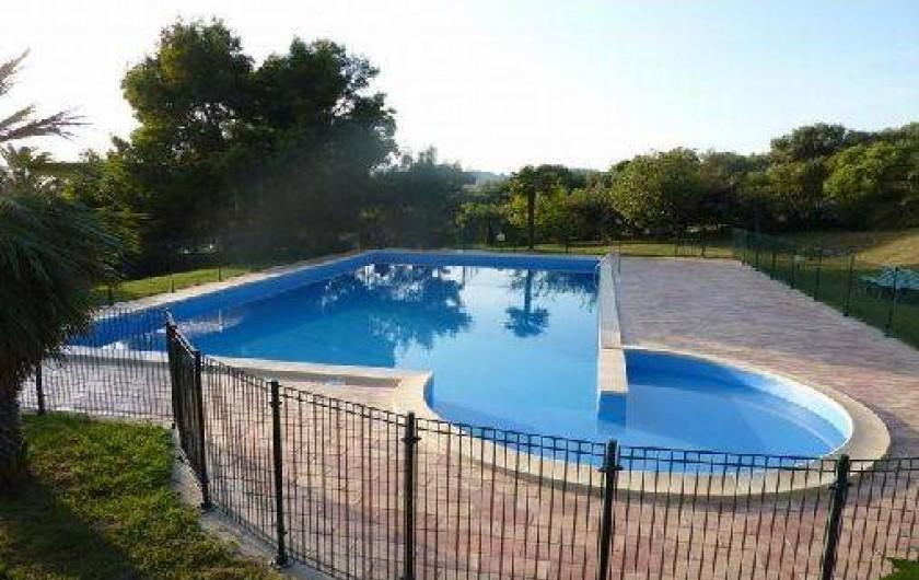 Location de vacances - Villa à Cargèse - piscine sécurisée ( 8x15m)