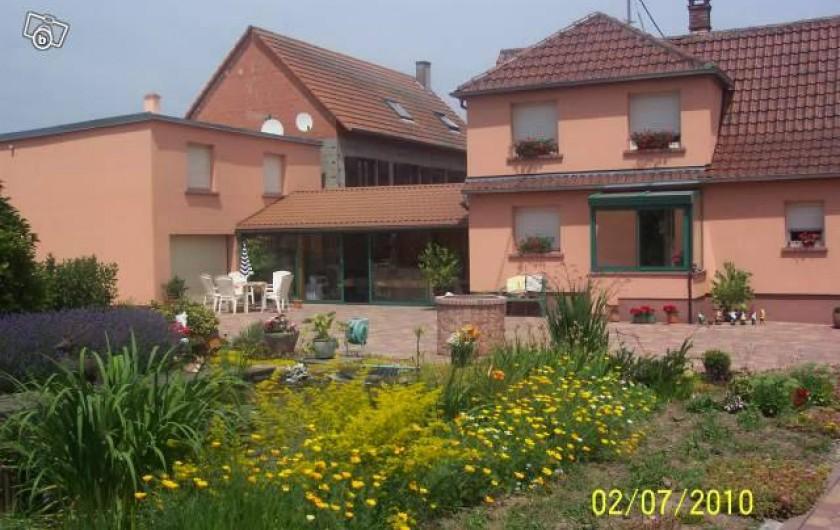 Location de vacances - Appartement à Schleithal - Vue générale de la propriété