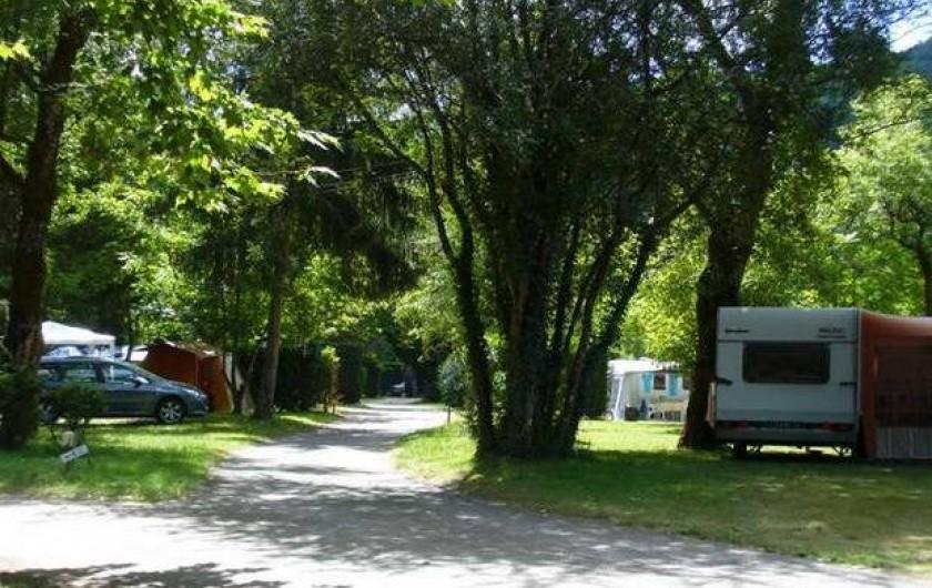 Location de vacances - Camping à Monceaux-sur-Dordogne